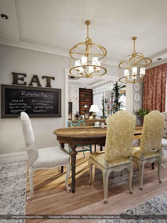 Интерьер кухни в английском стиле фото Экспо дизайн Как разбавить коричневый цвет в интерьере и цветовой дизайн спальни