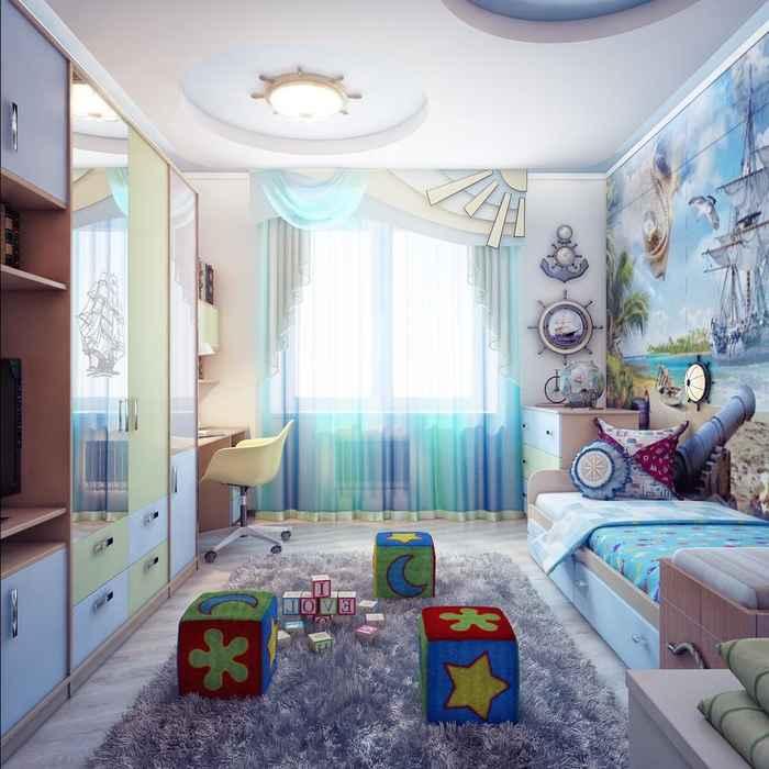 Детской спальни и дизайн 179