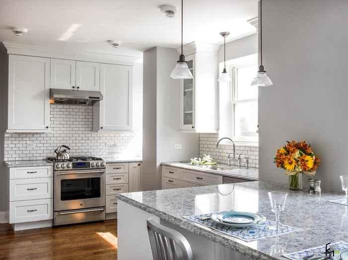 Отделка кухни фото дизайн в квартире реальные фото