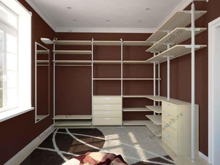 Дизайн проект прямоугольной комнаты