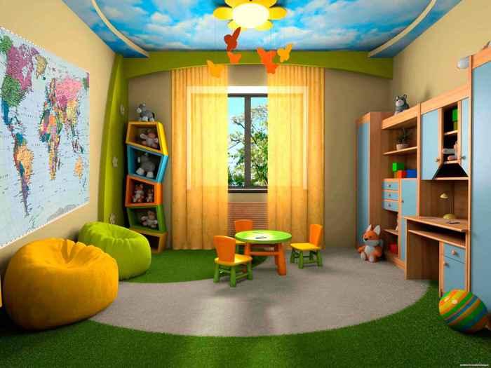 Заказать дизайн детских комнат