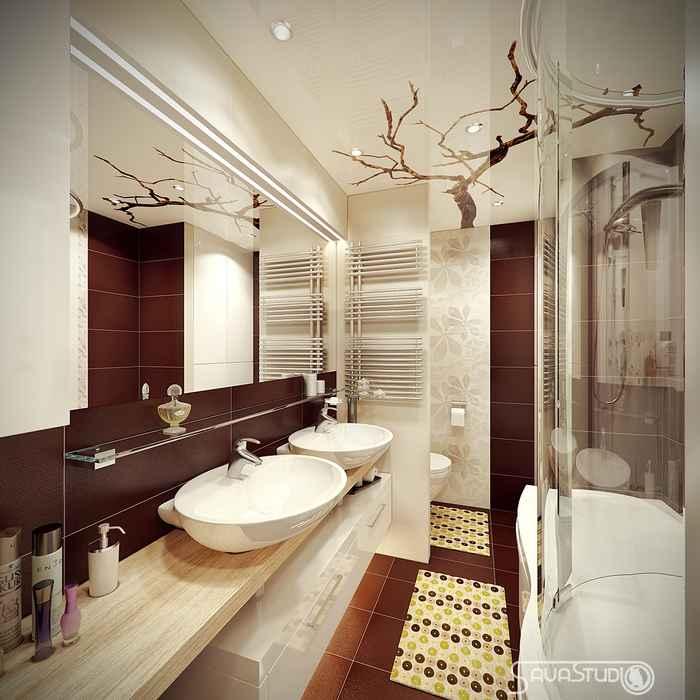 Дизайн для квартиры 54 м кв