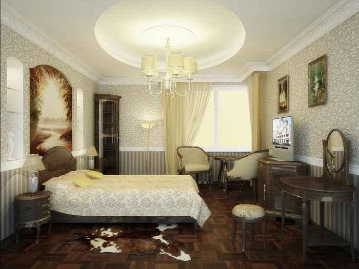 Дизайн интерьера квартир спальня